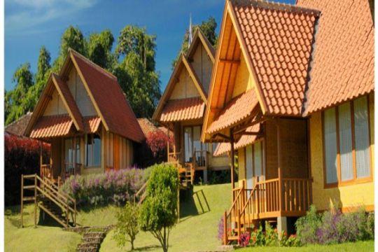 Kawasan Hotel Sari Papandayan Garut kembali aman