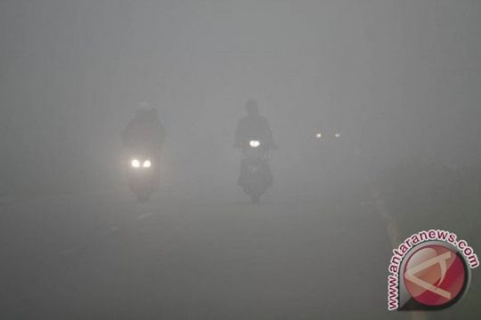 Kabut asap mulai melanda Binjai