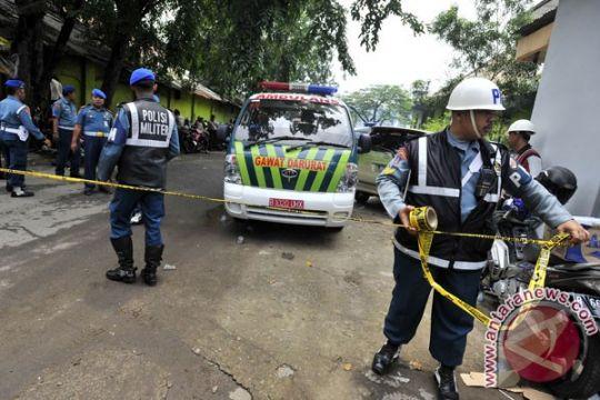 Polda : dua polisi terluka akibat ledakan gudang amunisi