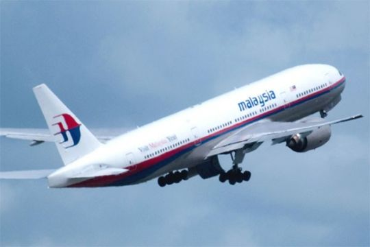 India bantu cari pesawat Malaysia Airlines