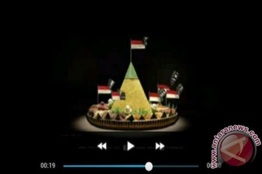 Iklan politik nasi tumpeng sebagai ide kreatif