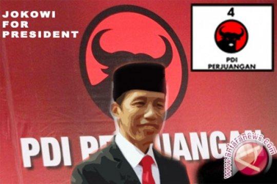 Jokowi: PDI-P menang, jalanan tidak ada yang rusak
