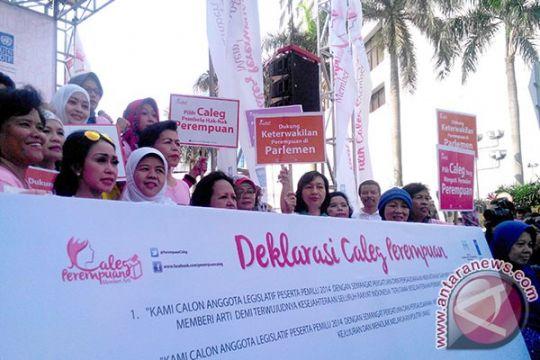 Caleg perempuan deklarasi antikorupsi