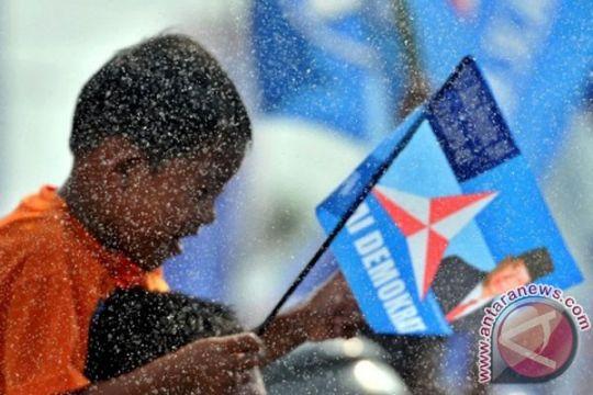 Atraksi Reog Ponorogo warnai kampanye Demokrat
