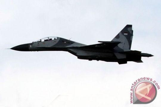 Dua sukhoi TNI AU usir pesawat asing