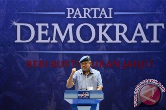 Perolehan suara pemilu kecil, SBY katakan Demokrat tahu diri