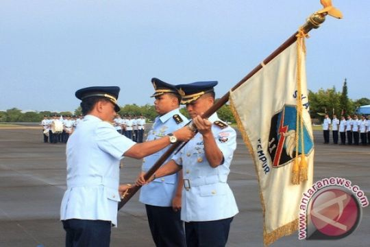 Skuadron Udara 11 punya komandan baru