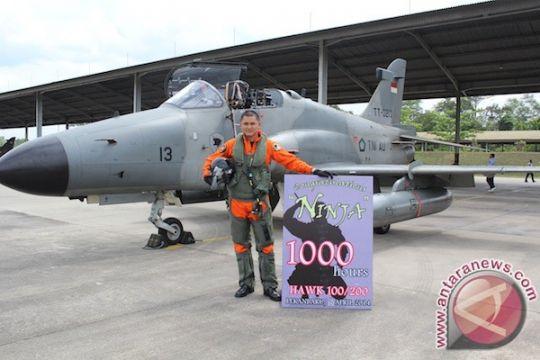 Lagi, penerbang Hawk 100/200 TNI AU raih 1.000 jam terbang