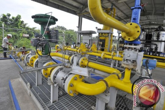 Pipa Gresik-Semarang beroperasi awal 2016
