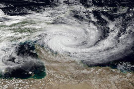Bibit siklon tropis tumbuh di Laut Timor