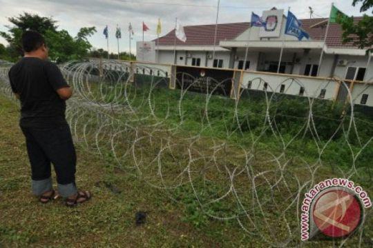 Pemindahan kotak suara KPU Pamekasan dikawal ketat pasukan gabungan