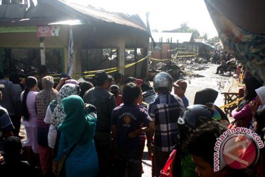 Kebakaran dan banjir terjadi bersamaan di Sampit