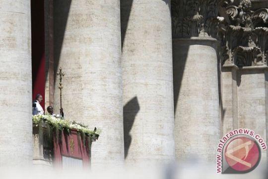 Paus tegaskan lagi dukungan solusi dua negara di Palestina