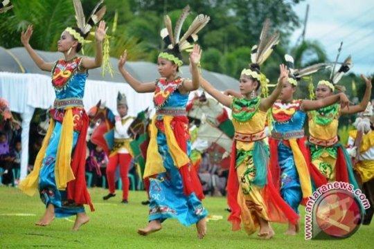 Ratusan penari disiapkan tampil kolosal di HUT Banjarmasin
