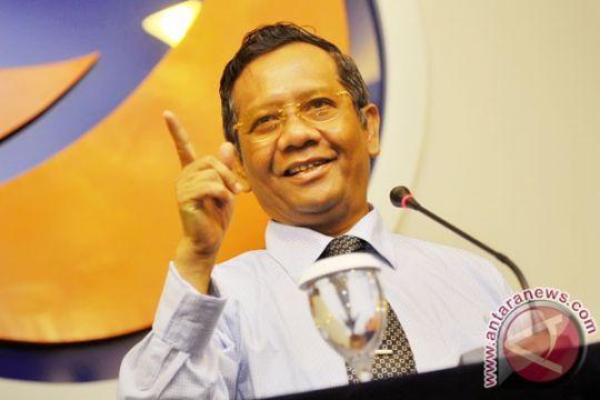 Mahfud mengaku tak pernah bahas pilpres dengan Jokowi