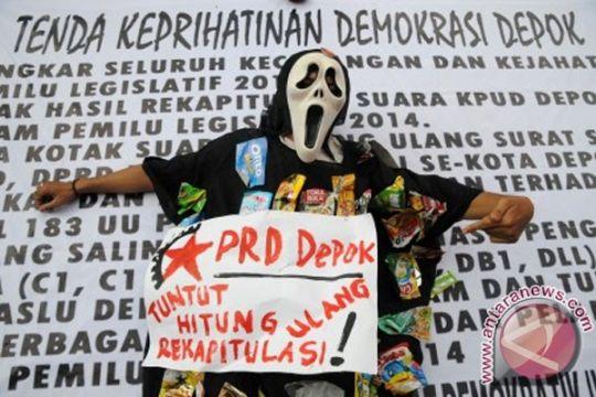 PDIP: validasi diam-diam KPU Depok mencurigakan