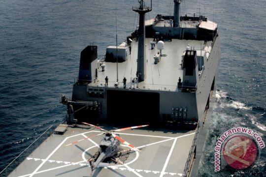 KRI Makassar-590 angkut 710 pemudik dari Surabaya