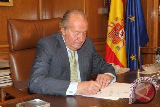Juan Carlos tinggalkan Spanyol saat terjerat dugaan korupsi