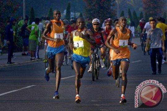 Silas Kipruto kembali juarai Jakarta 10K