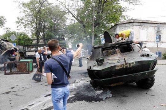 Rusia tuntut penyelidikan kematian wartawan di Ukraina