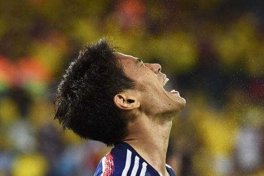 Kolombia-Jepang bermain imbang 1-1 di babak pertama
