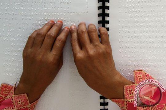 Perpustakaan Kota Malang koleksi buku braille