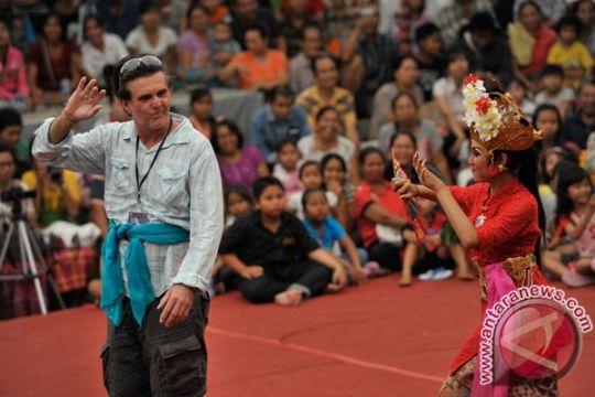 Kolaborasi tari Jepang-Bali lengkapi kegiatan ritual