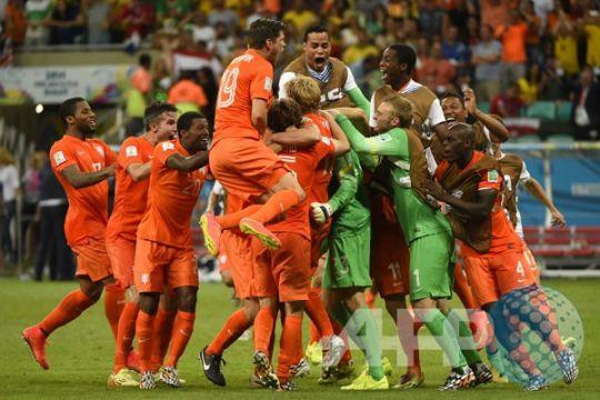 Federasi Belanda tunda keputusan Piala Dunia 2018