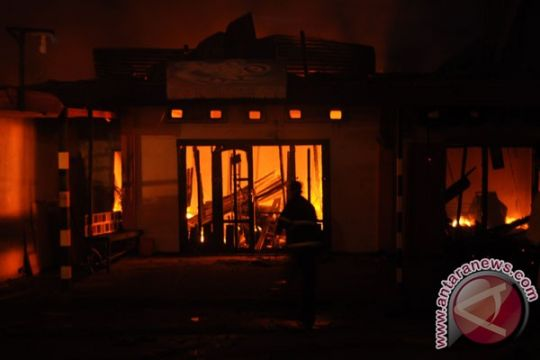 Kebakaran hanguskan 54 rumah di Kutai