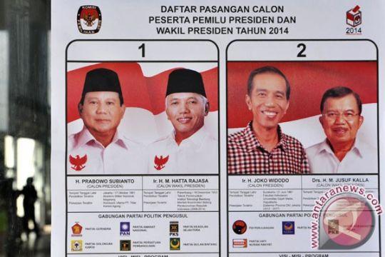 Jokowi-JK unggul di TPS keraton Yogyakarta