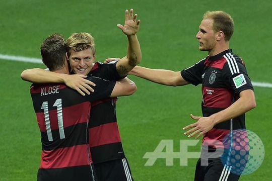 Kroos terpilih sebagai pemain terbaik Jerman