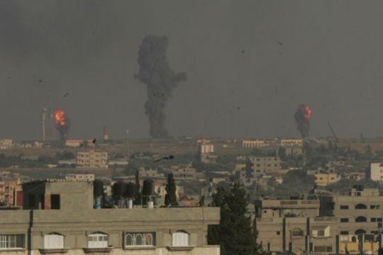 Serangan udara Israel tewaskan 3 bocah di Gaza