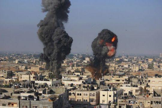 Ribuan rakyat Israel kutuk serangan Gaza