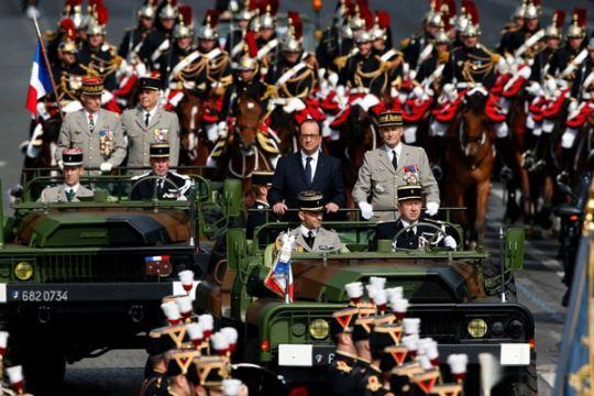 Donald Trump ingin parade militer seperti di Prancis