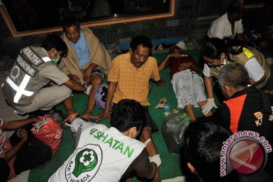 Korban selamat feri terbakar dievakuasi ke Padangbai