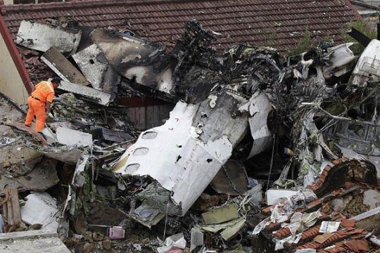 48 tewas, 10 cedera dalam kecelakaan pesawat di Taiwan
