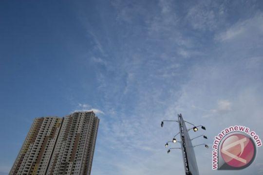 Cuaca Jakarta cerah berawan akan menyapa warga Rabu pagi