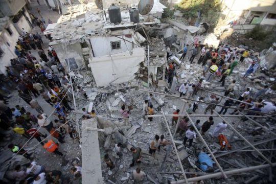Israel serang sekolah PBB di Gaza, sedikitnya 10 tewas