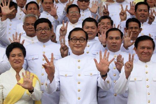 Pemimpin oposisi Kamboja katakan ia akan kembali pada Sabtu
