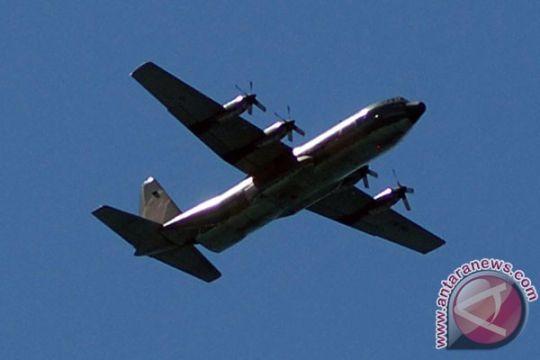 Delapan pesawat Hercules Lanud Abd Saleh siaga AirAsia