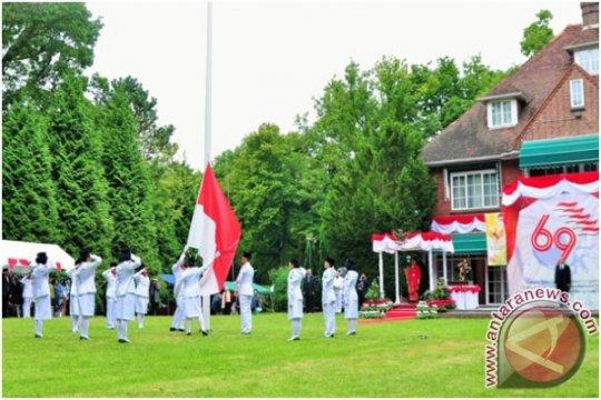 500 WNI upacara Kemerdekaan Indonesia di Belanda