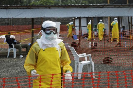 Perawat Prancis tertular Ebola di Liberia