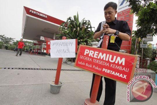 Premium langka, pertamax di Bengkalis Rp16.000 per liter