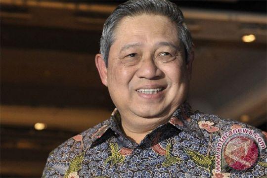 Yudhoyono terima penghargaan bidang lingkungan dari PBB