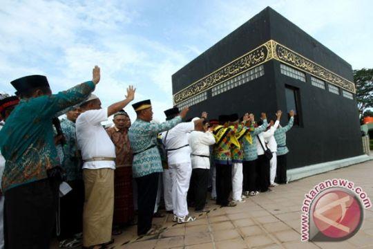 Jemaah Batam yang visanya terlambat diinapkan di asrama haji