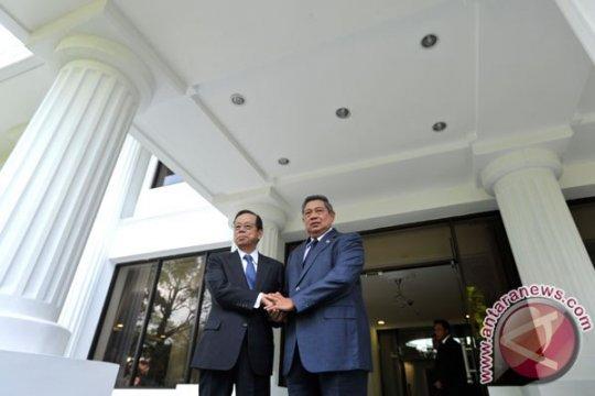 SBY-Fukuda harapkan hubungan baik Indonesia-Jepang dijaga