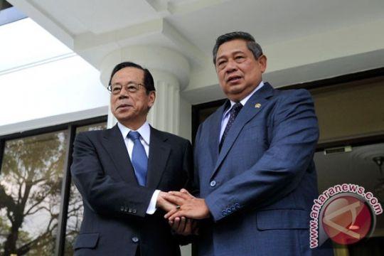 Presiden terima mantan PM Jepang Fukuda