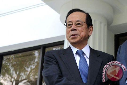 Mantan PM Jepang Fukuda temui Presiden Jokowi