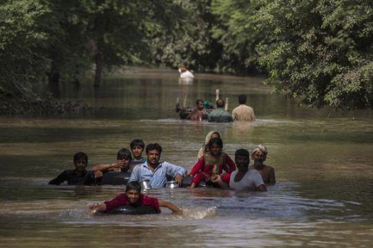 Pejabat Pakistan menyebut petani India penyebab asap di Pakistan Timur