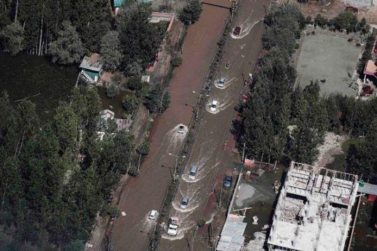 Sembilan WNI terjebak banjir di India